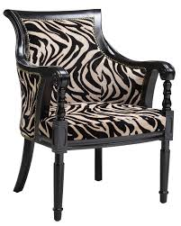 chair furniture 40 accent chairs animal print brown zebra chair 1