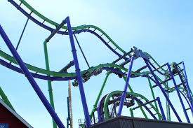 Six Flags Near Me Review Joker At Six Flags Great America Coaster101