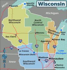 Map Of Green Bay Wisconsin by File Wisconsin Regions Map 2015 Svg Wikimedia Commons