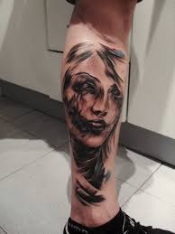 woman face tattoo by tattooastur on deviantart