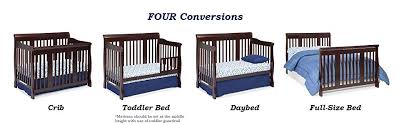 Crib Turns Into Toddler Bed Stork Craft Tuscany 4 In 1 Convertible Crib Espresso