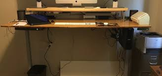 jarvis bamboo adjustable standing desk jarvis bamboo standing desk cause effectiveness