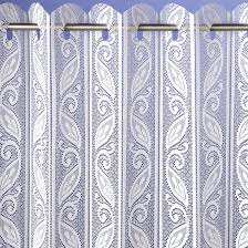 corsica lace pleated blind net curtains curtains linen4less