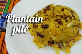 cuisiner le plantain recette plantain pilé cameroun