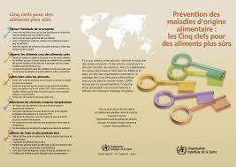 hygi e alimentaire en cuisine prévention des maladies d origine alimentaire les cinq clefs pour