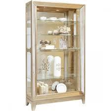 Pulaski Furniture Curio Cabinet by Furniture Platinum Antique Mirrored Curio