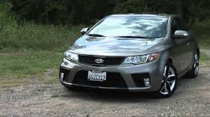 2010 kia forte koup sx drive time review youtube