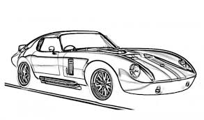 1965 shelby cobra daytona coupe race car coloring pages free
