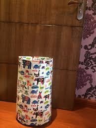 cartoon zoo animal dog owl elephant cat bag for kids room craft