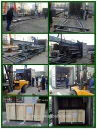 prefabricated steel structural building with mezzanine floor metal