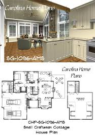 Small Craftsman Cottage House Plans 76 Best House Plans With Porches Images On Pinterest Screened