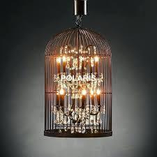 Birdcage Pendant Light Chandelier Hanging Light Chandelier Hanging Chandelier L Vintage Rustic