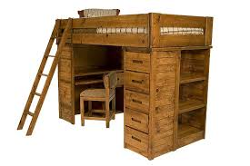 Bunk Beds For Less The Young Pioneer Student Loft Twin Bed Mor Furniture For Less