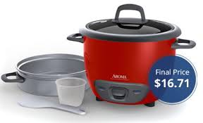 amazon black friday steamer save 75 on aroma 6 cup rice cooker and food steamer the krazy