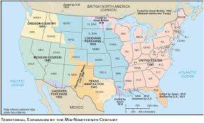 map us expansion emigrants map and guide for routes to america world