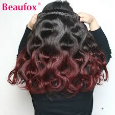 Fox Hair Extensions by Online Get Cheap Red Human Hair Extensions Aliexpress Com