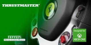 volante per xbox one thrustmaster tx racing wheel annunciato il primo volante