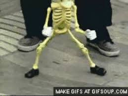 Funny Meme Gifs - i love you skeleton gif find share on giphy