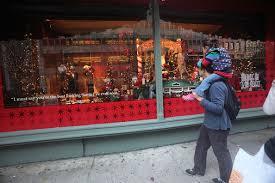 macys store windows on display in new york zimbio