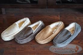 ugg ascot sale mens ugg australia ascot charcoal suede mens slipper sheepskinshoes com