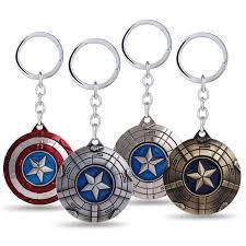 key rings designs images 2016 new design rotatable the avengers movie captain america jpg