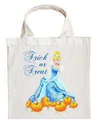 cinderella trick or treat bag personalized cinderella halloween