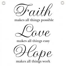 Chalkboard Love And Hope Anchors - love faith hope quotes quotes of the day