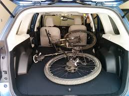 Subaru Forester Bike Rack by 14 U002718 2014 Forester Fits 29er Mountain Bike Inside No Problem