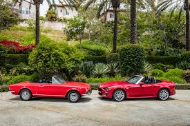 fiat 124 spider arrives in the us starts from 24 995