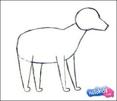 how to draw dog hellokids com