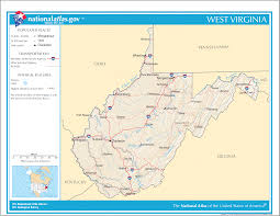 Road Map Virginia by Maps Of West Virginia