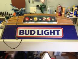 bud light pool table light flagrant bud light table light and s s man cave items table light