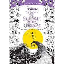 tim burton u0027s the nightmare before christmas art of coloring book