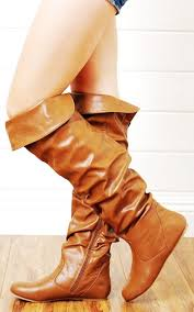 s boots knee high brown leather knee high lace up boots no heel boots like these brown