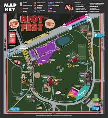 Lollapalooza Map Your Guide To Everything Riot Fest 101wkqx Wkqx Fm