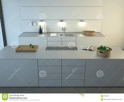 Cuisine Minimaliste Design by Cuisine Minimaliste Moderne Photographie Stock Libre De Droits