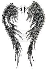 small angel wing tattoos on back best 25 fallen angel tattoo ideas only on pinterest sad angel