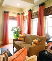 Orange Curtains For Living Room 15 Curtain Designs For You To Decorate Your Home Pretty Designs