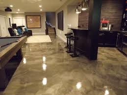 flooring basement design with epoxy flooring images and pool