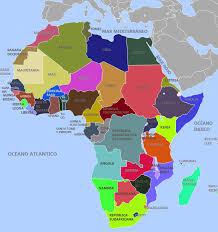 mapa de africa de áfrica