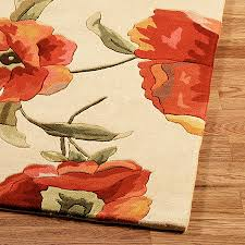 Poppy Area Rug Wonderful Album Of Poppy Area Rug Mashoshin With Regard To