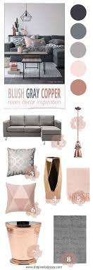 color palette for home interiors best 25 copper color ideas on room color schemes