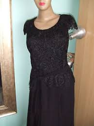 jacques vert black lace dress size uk 8 bnwt rrp 189 wedding