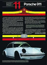 porsche 911 poster 911 from a to z porsche 911 an appreciation of p hemmings