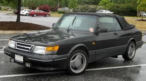 saab convertible black saab 900 cabrio 2625794