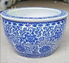 large size chinese ceramic garden flower plant pots wholesale