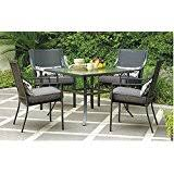 Patio Furniture Metal Amazon Com Metal Patio Furniture Sets Patio Furniture