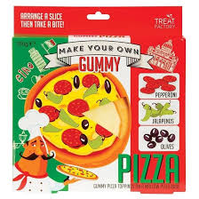 gummy factory treat factory make your own gummy pizza at mighty ape nz