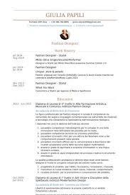 Resume For Fashion Designer Job Fashion Stylist Resume Sample Fashion Stylist Resume This Resume