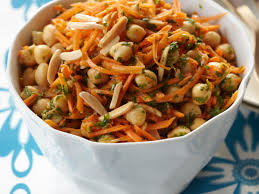 carrots thanksgiving carrot and chickpea salad recipe charles kelsey food u0026 wine